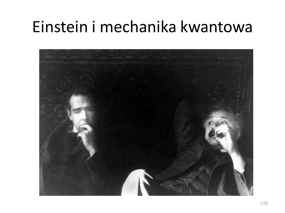 Einstein i mechanika kwantowa