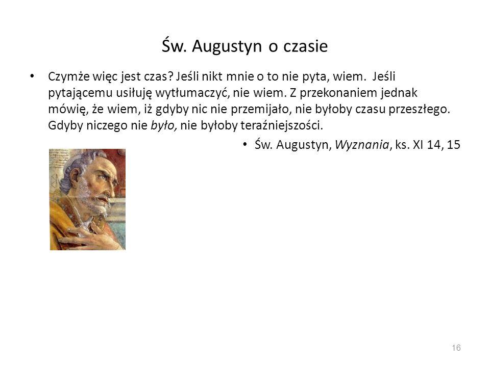 Św. Augustyn o czasie