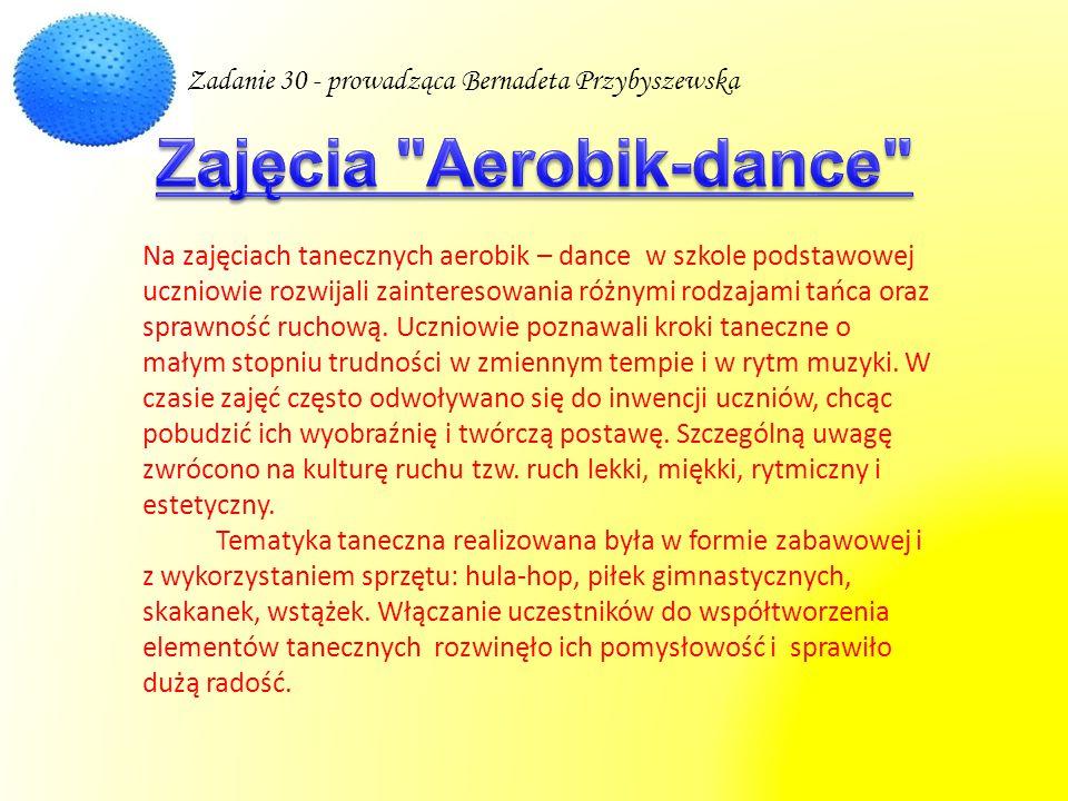 Zajęcia Aerobik-dance