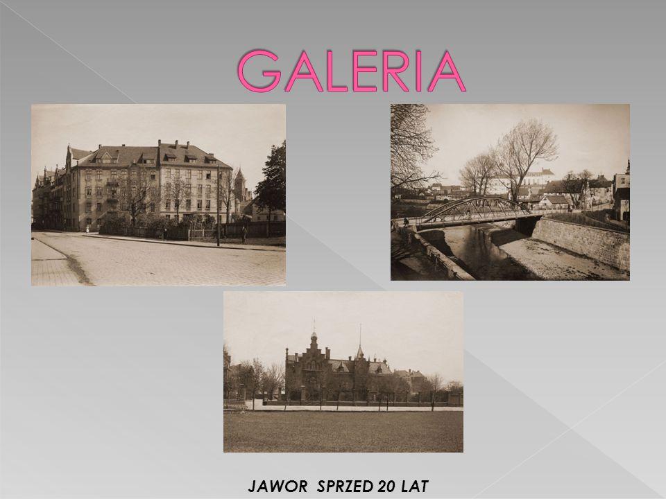 GALERIA JAWOR SPRZED 20 LAT
