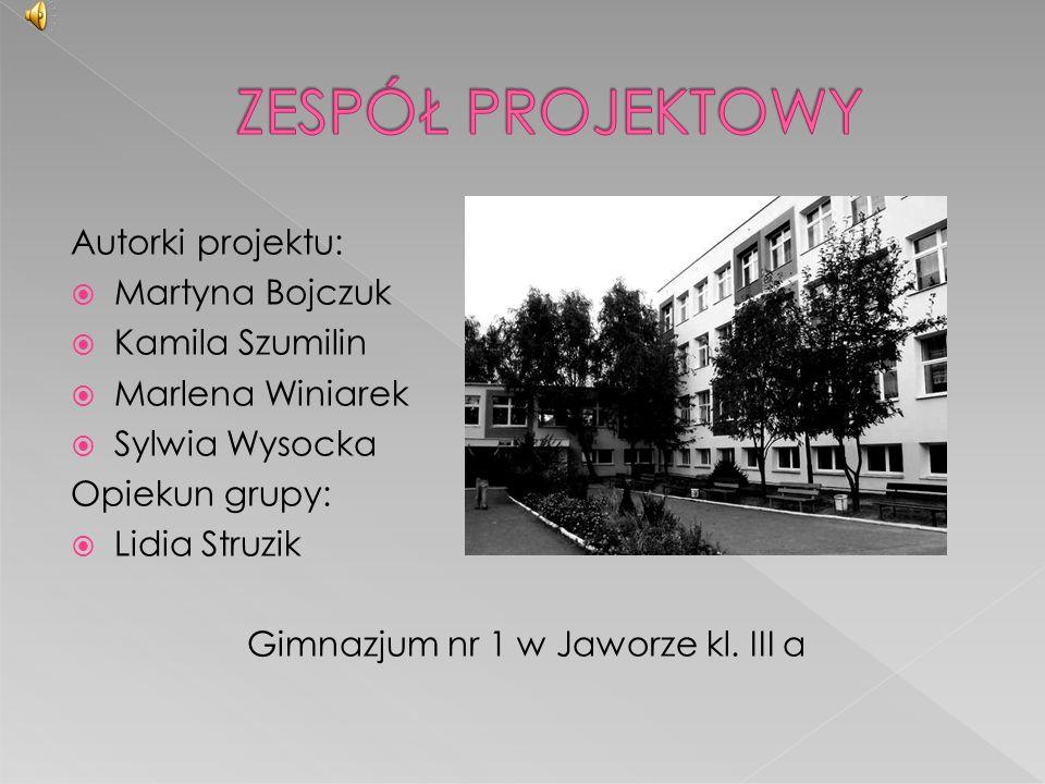 Gimnazjum nr 1 w Jaworze kl. III a