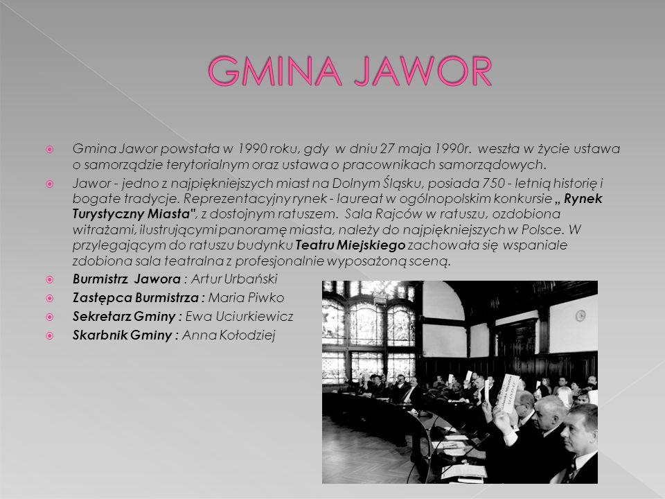 GMINA JAWOR