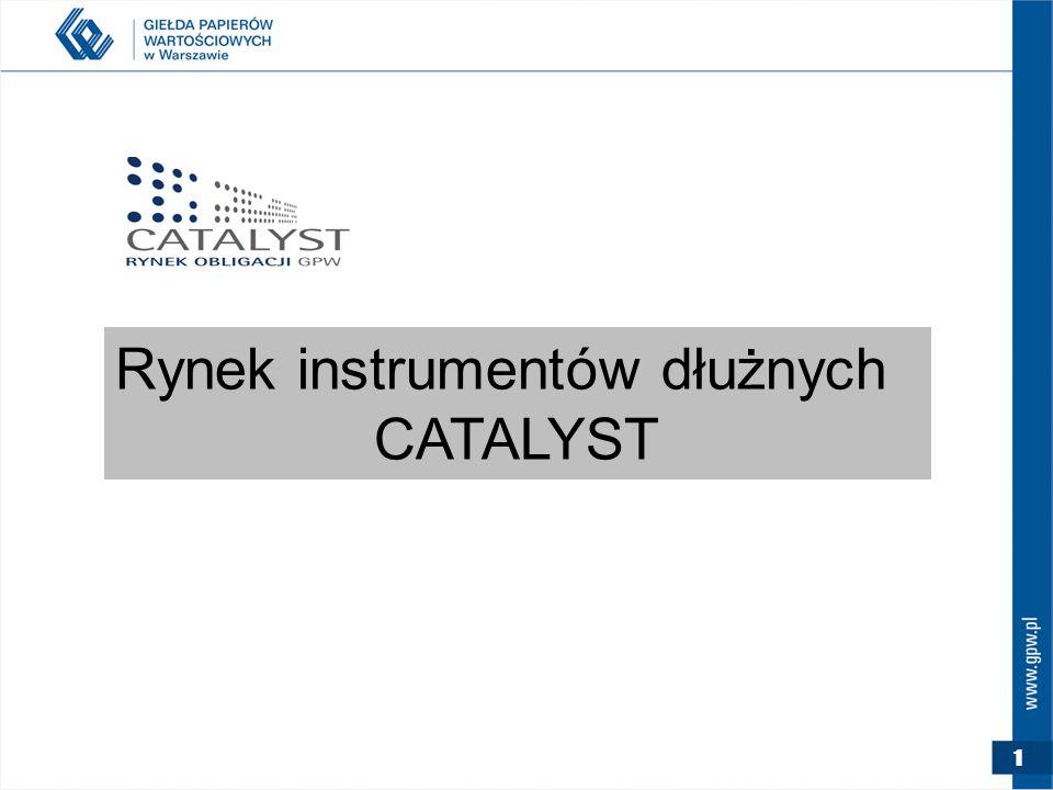 Rynek instrumentów dłużnych CATALYST