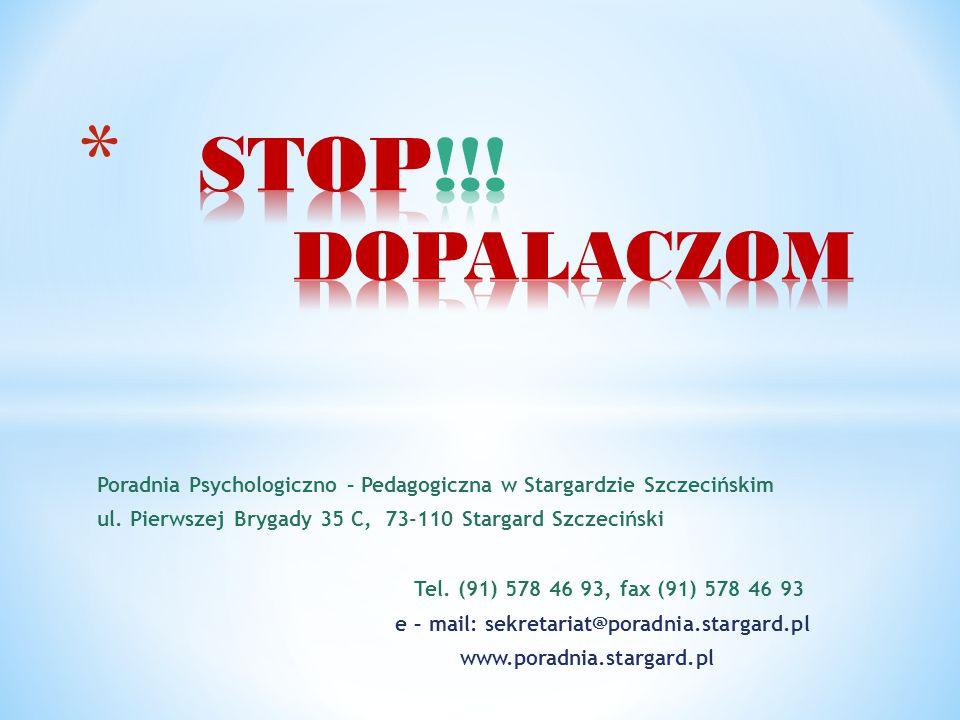 e – mail: sekretariat@poradnia.stargard.pl