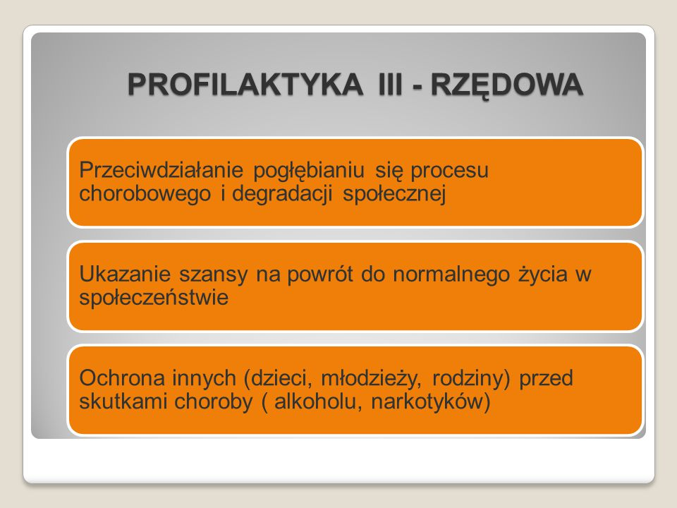 PROFILAKTYKA III - RZĘDOWA