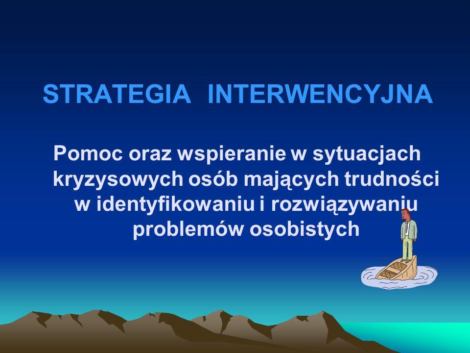 STRATEGIA INTERWENCYJNA
