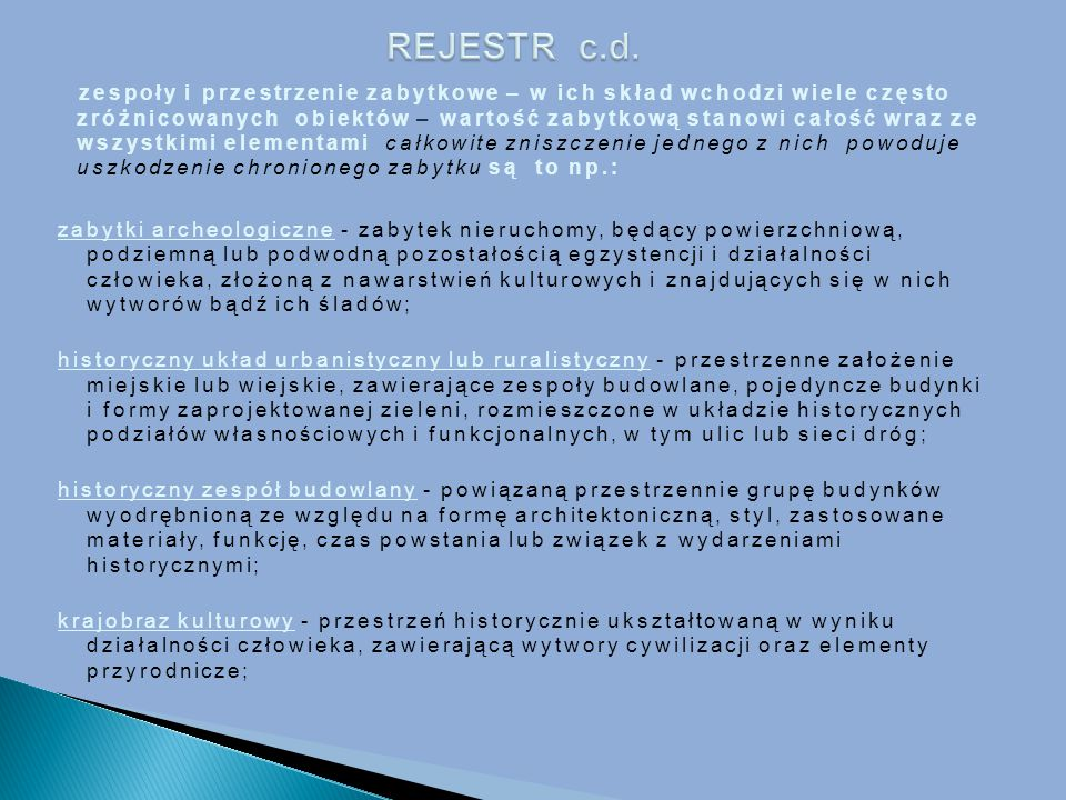 REJESTR c.d.