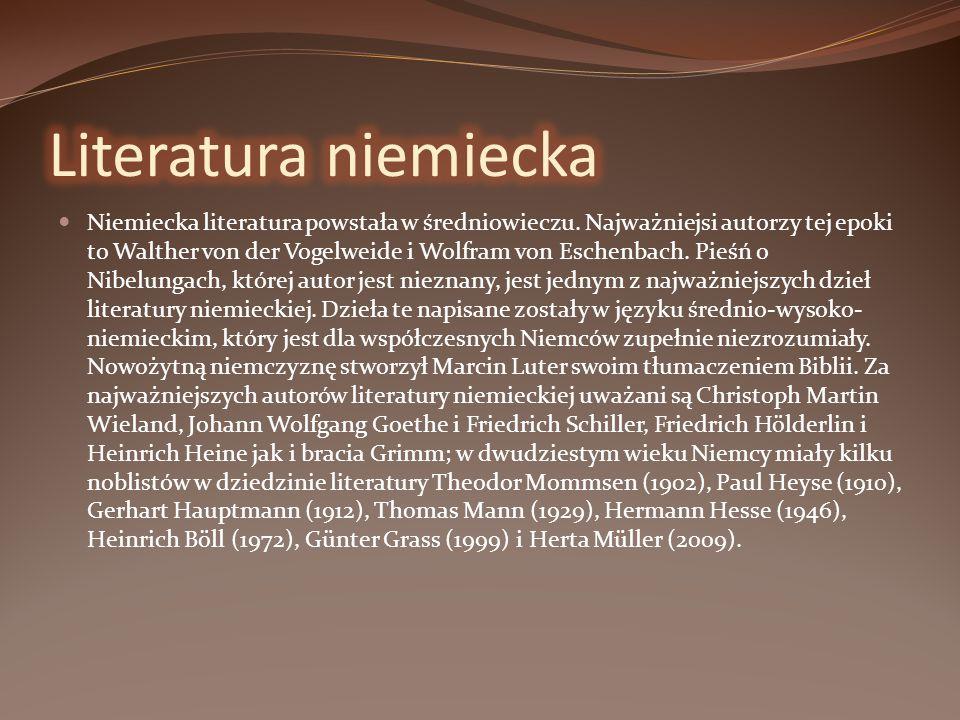 Literatura niemiecka