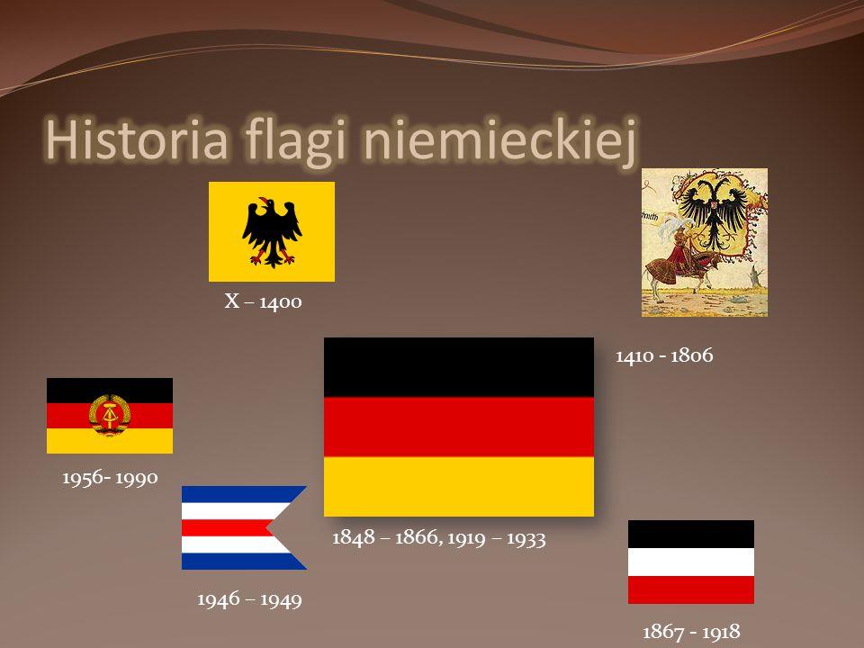 Historia flagi niemieckiej