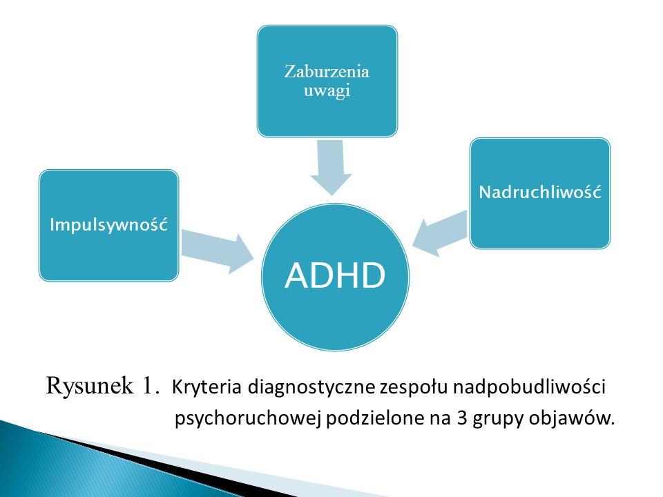 ADHD Impulsywność. Zaburzenia uwagi. Nadruchliwość.