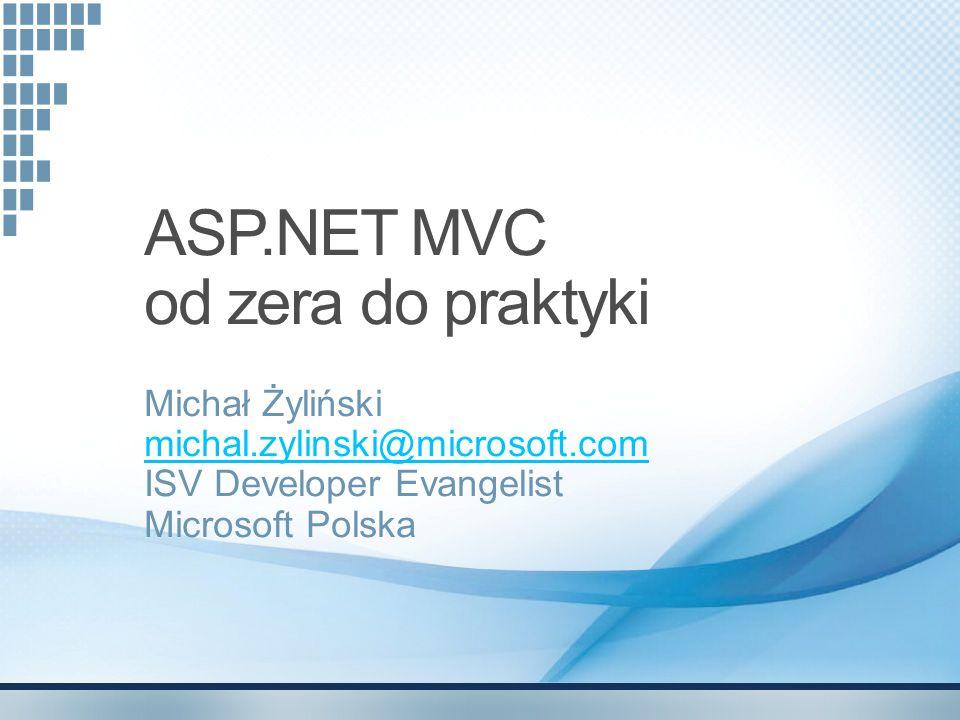 ASP.NET MVC od zera do praktyki