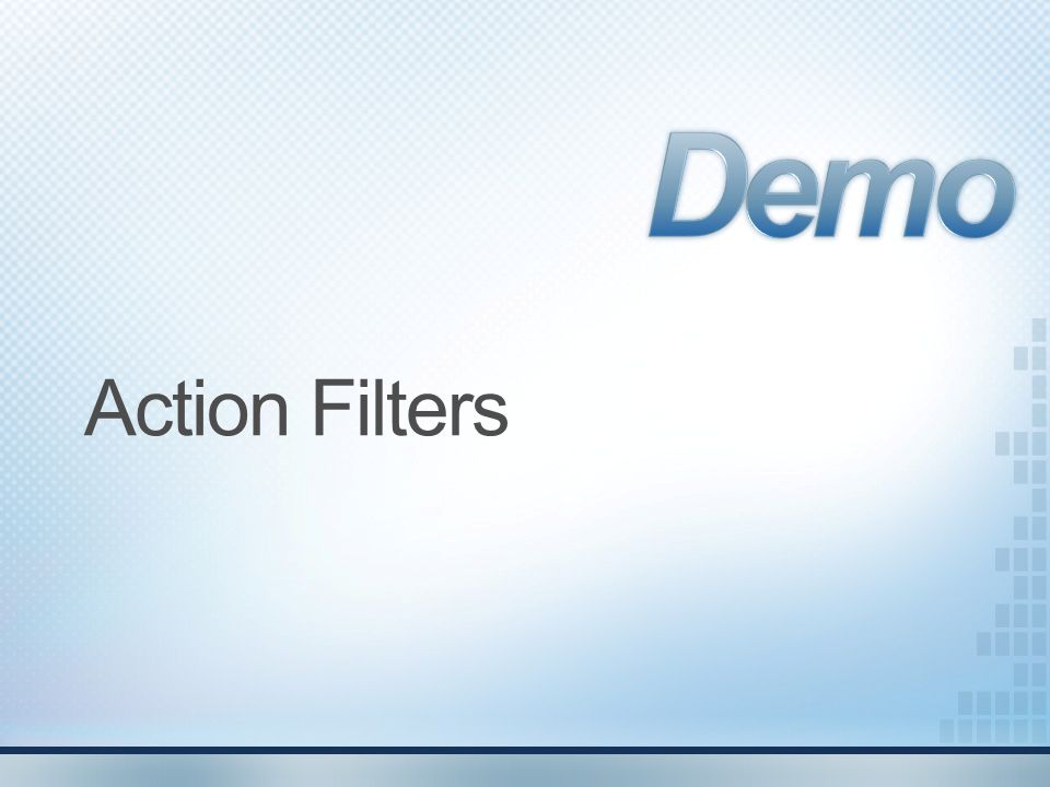 Demo Action Filters