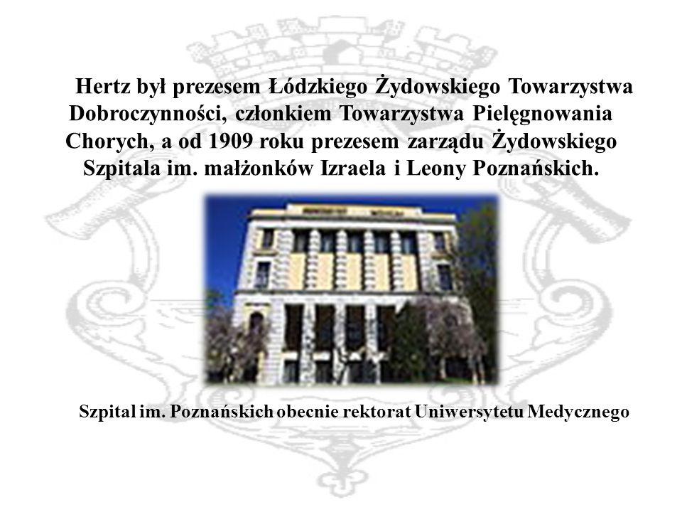 Szpital im. Poznańskich obecnie rektorat Uniwersytetu Medycznego