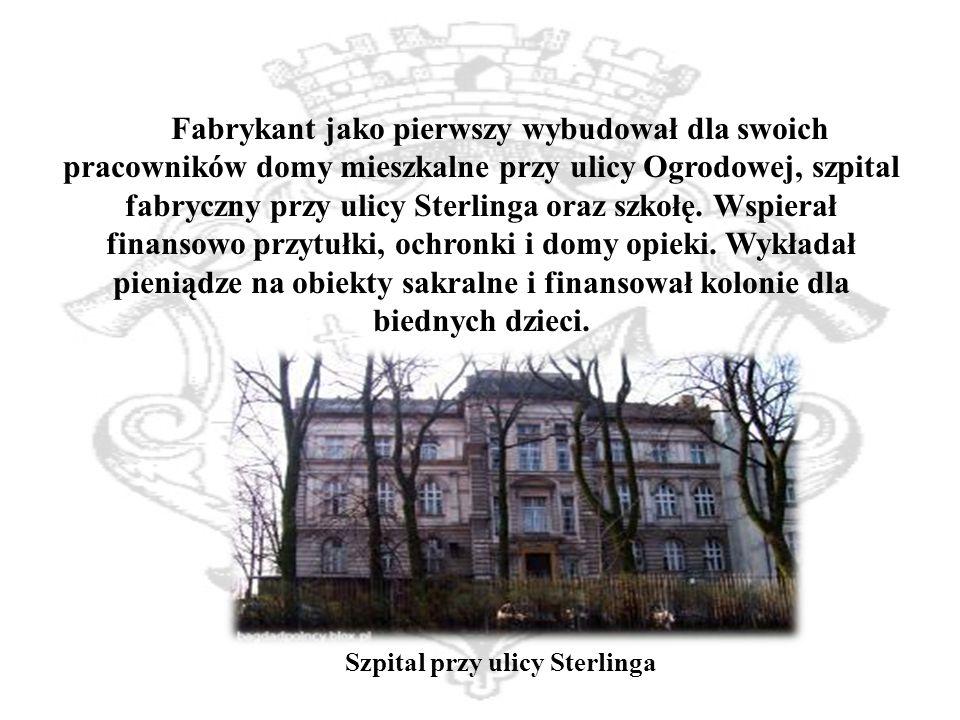 Szpital przy ulicy Sterlinga