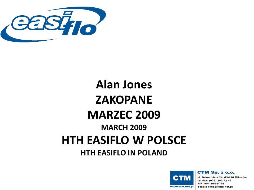 Alan Jones ZAKOPANE MARZEC 2009 HTH EASIFLO W POLSCE