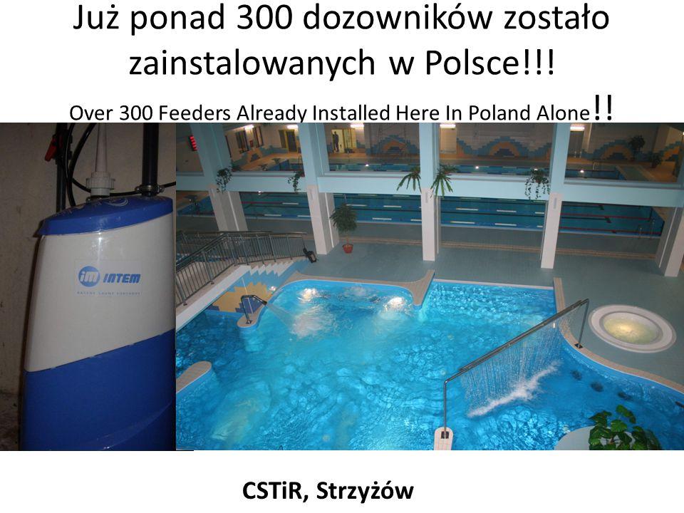Już ponad 300 dozowników zostało zainstalowanych w Polsce
