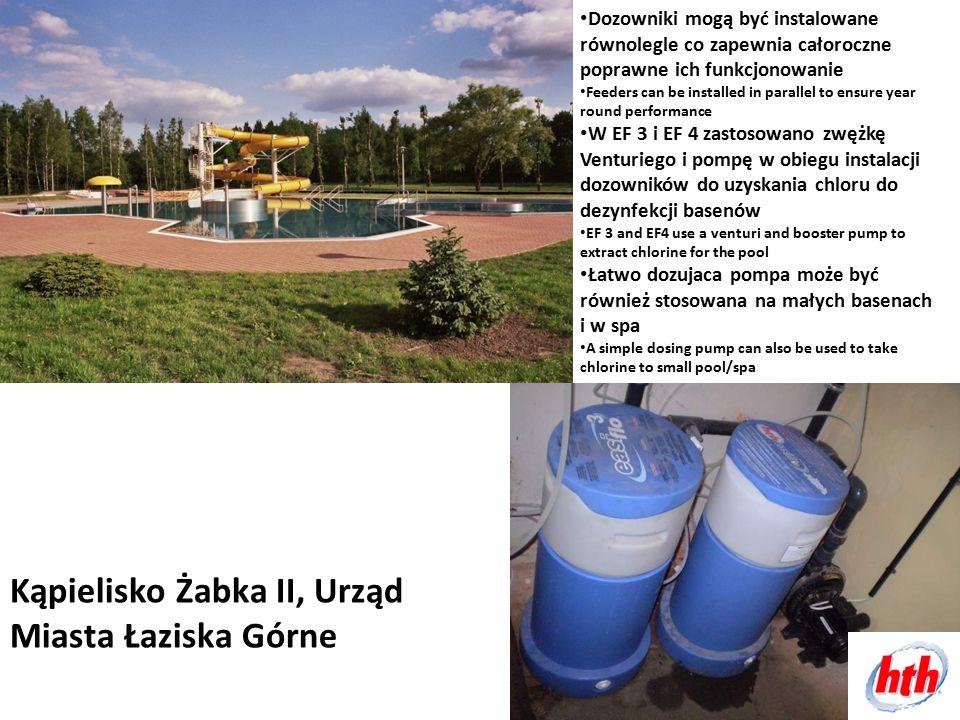 Kąpielisko Żabka II, Urząd Miasta Łaziska Górne