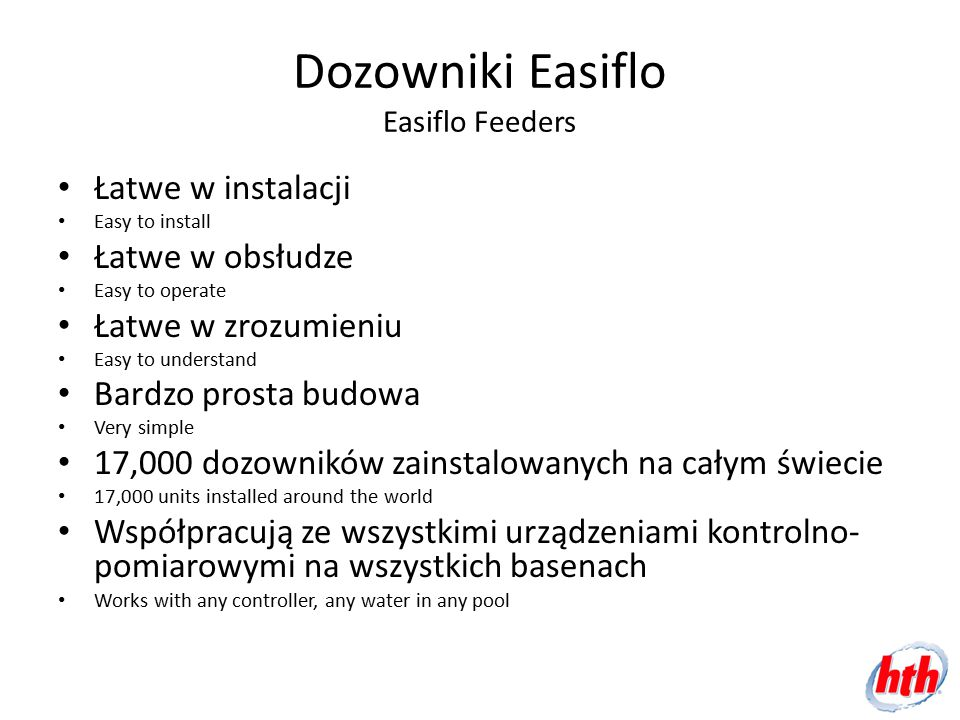Dozowniki Easiflo Easiflo Feeders