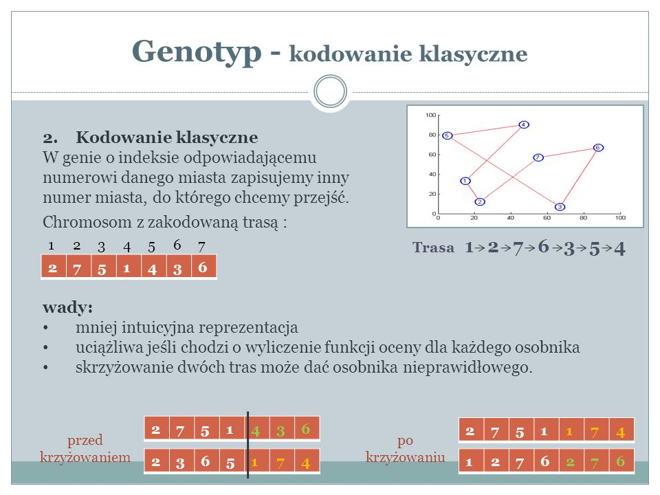 Genotyp - kodowanie klasyczne