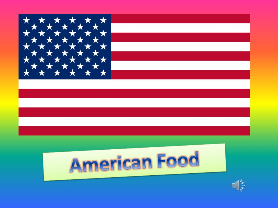 American food ppt pobierz for American cuisine presentation