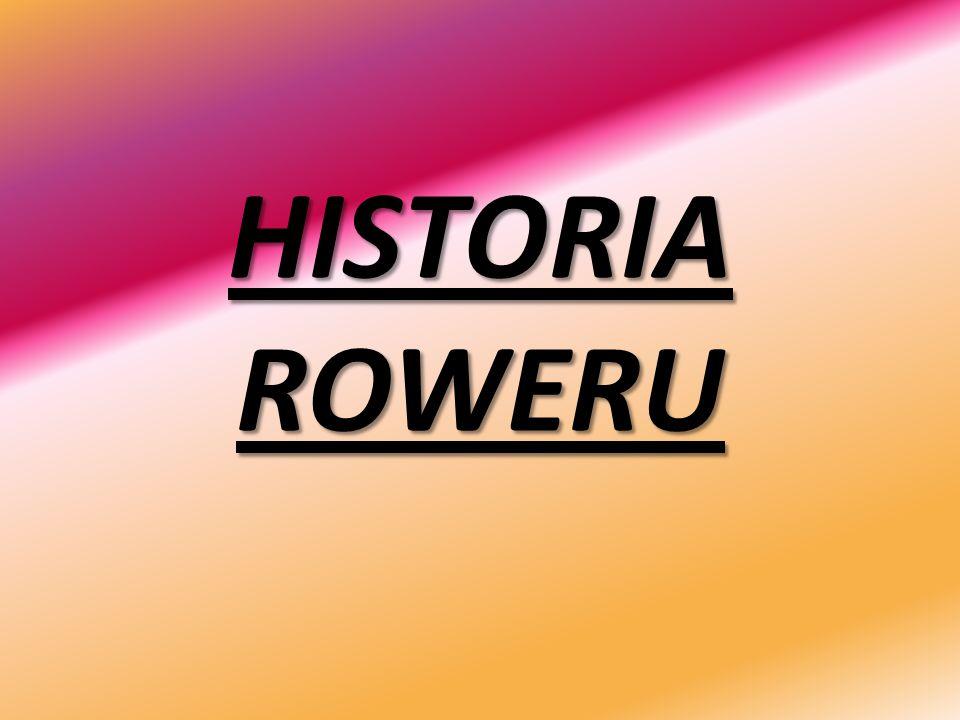 HISTORIA ROWERU