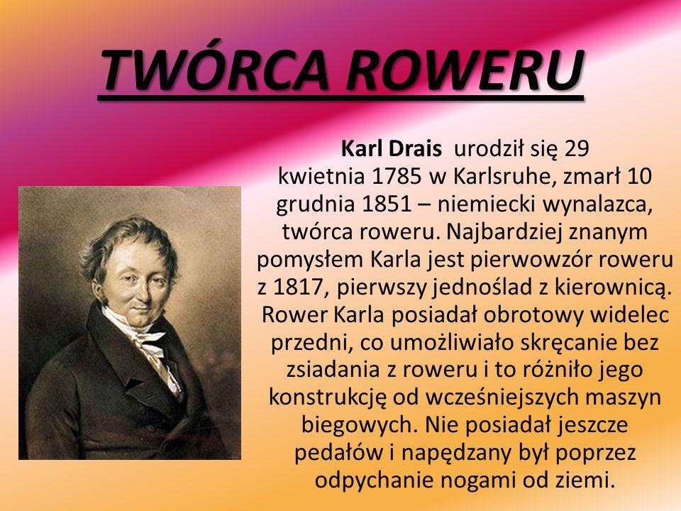 TWÓRCA ROWERU