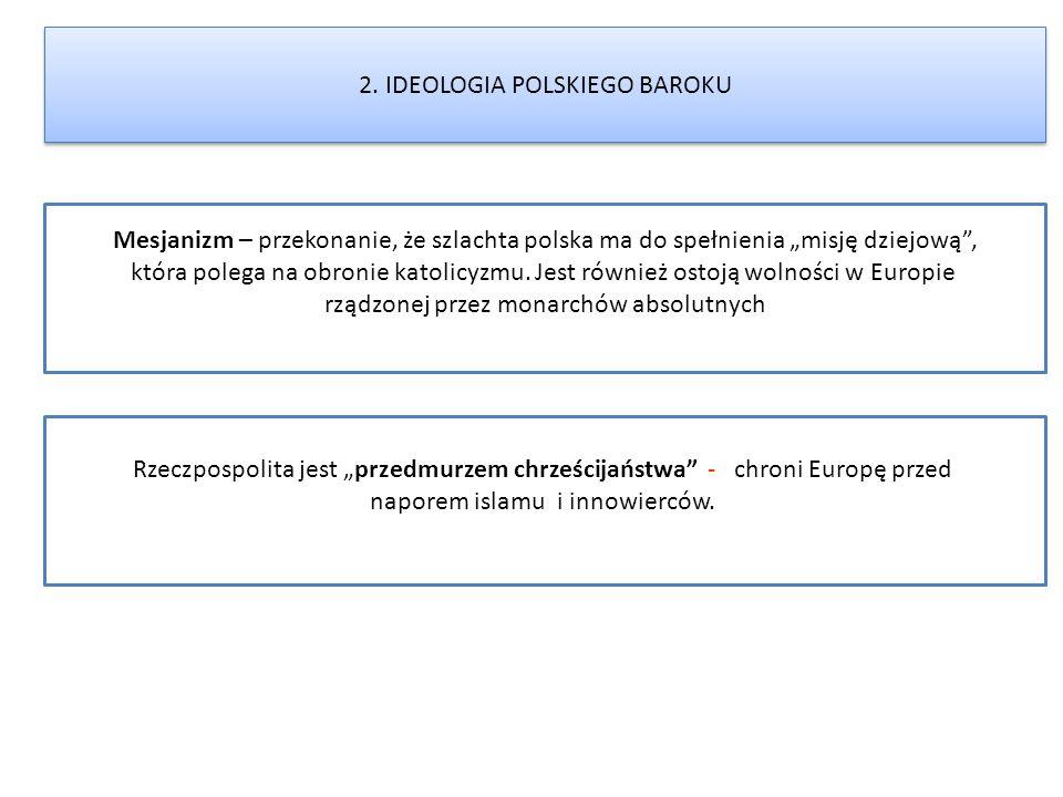2. IDEOLOGIA POLSKIEGO BAROKU