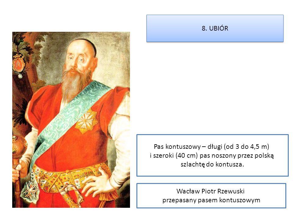 Pas kontuszowy – długi (od 3 do 4,5 m)