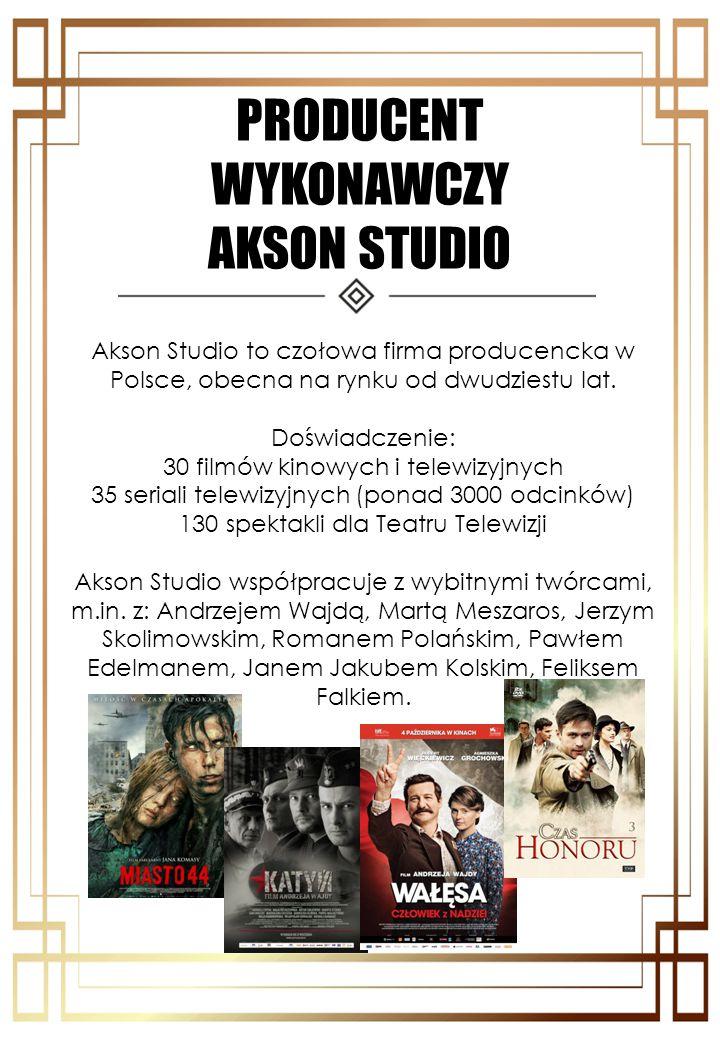 PRODUCENT WYKONAWCZY AKSON STUDIO