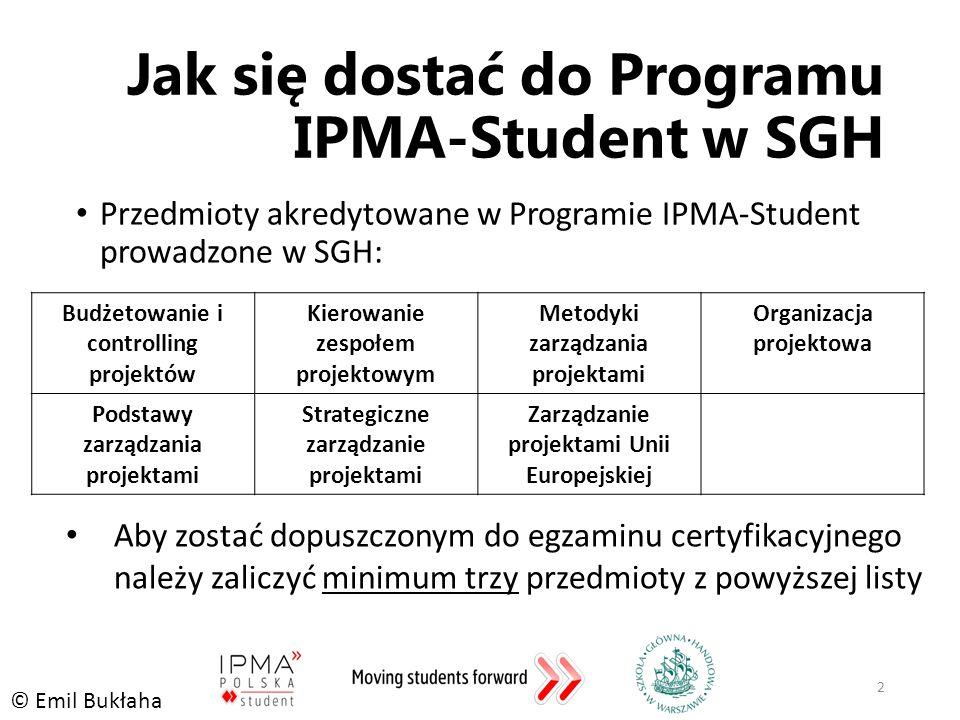 Jak się dostać do Programu IPMA-Student w SGH