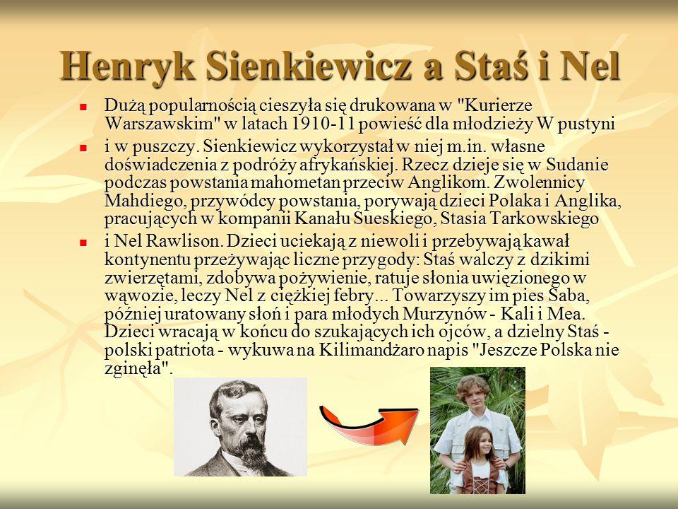 Henryk Sienkiewicz a Staś i Nel