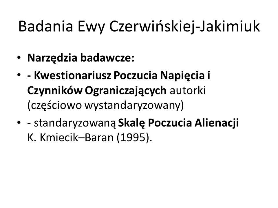 Badania Ewy Czerwińskiej-Jakimiuk