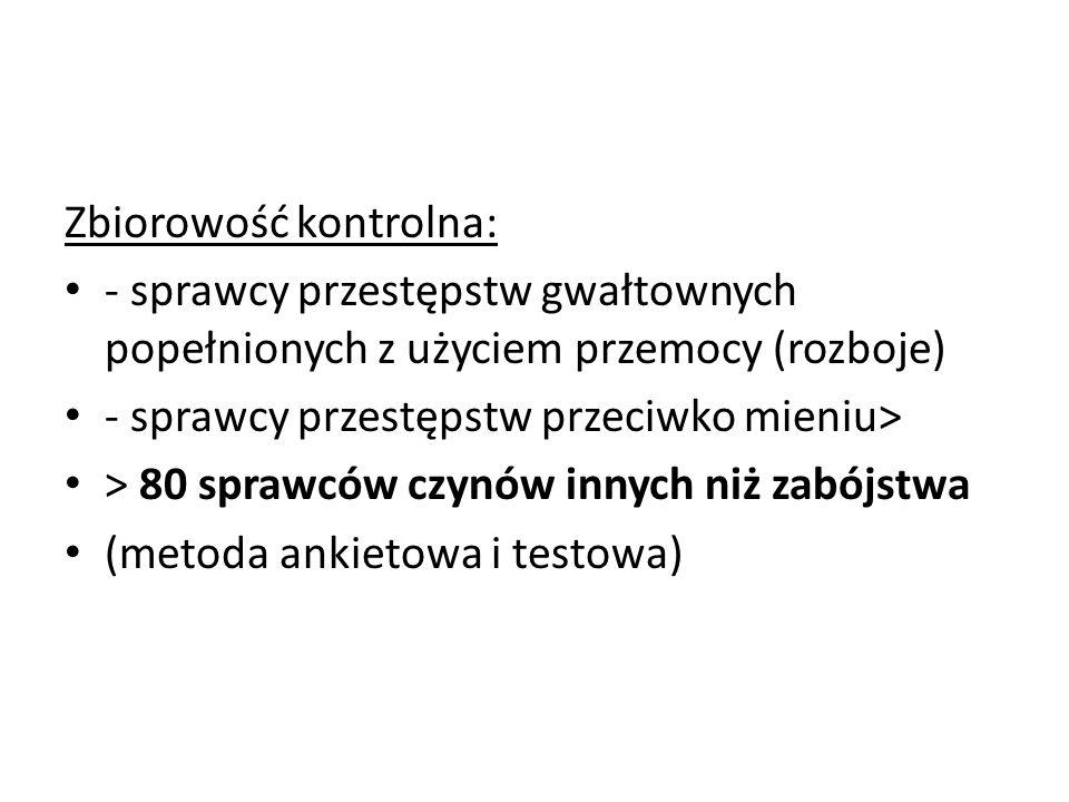 Zbiorowość kontrolna: