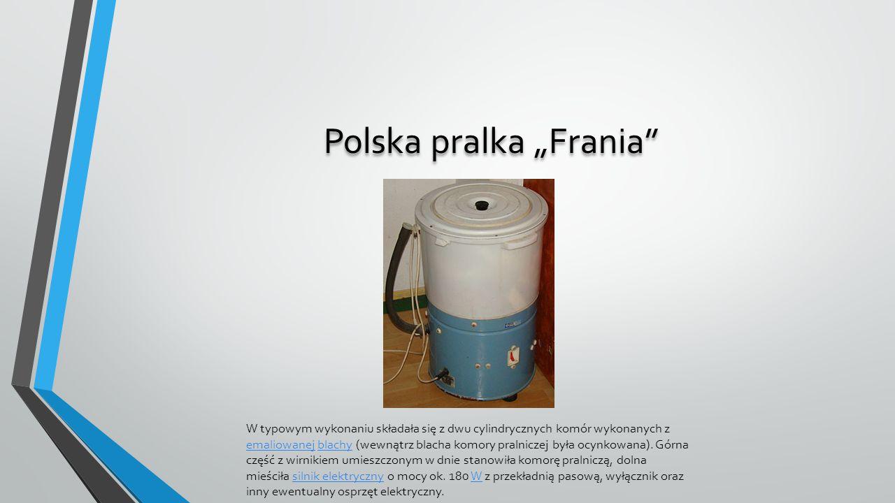 "Polska pralka ""Frania"