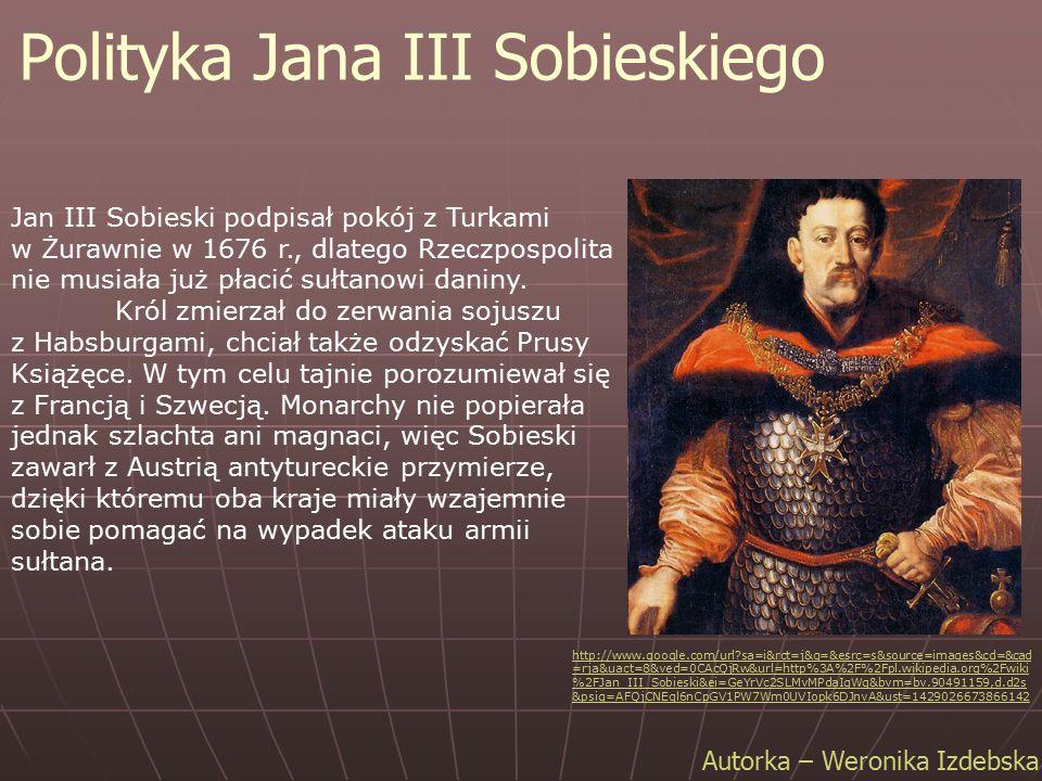 Polityka Jana III Sobieskiego