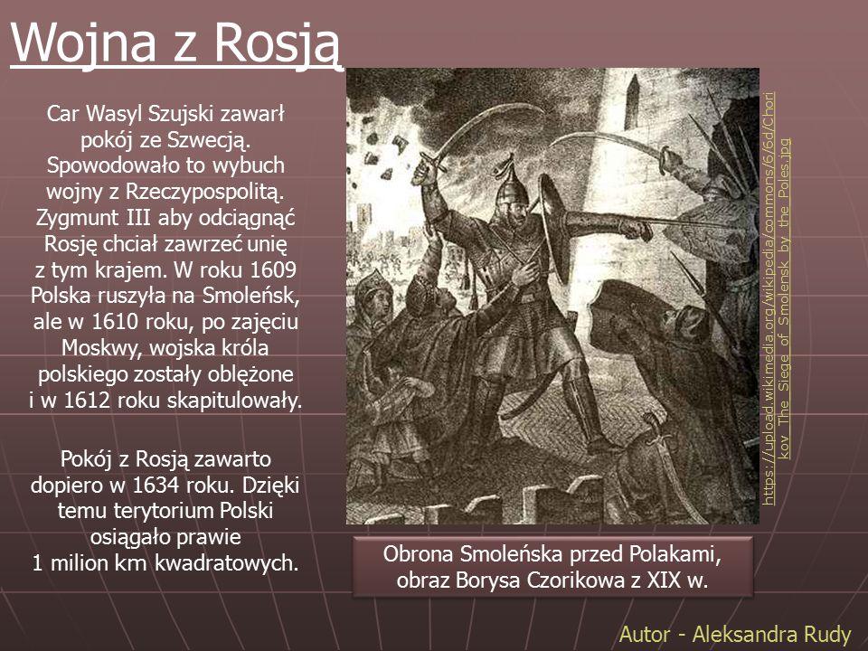 Obrona Smoleńska przed Polakami, obraz Borysa Czorikowa z XIX w.