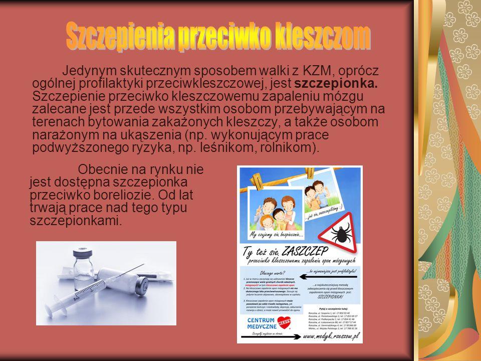 Szczepienia przeciwko kleszczom