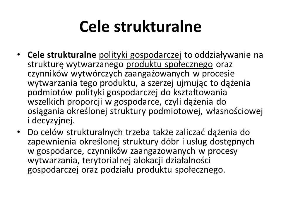 Cele strukturalne