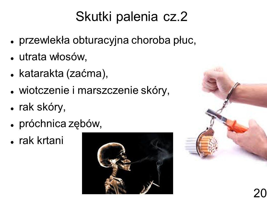 Skutki palenia cz.2 przewlekła obturacyjna choroba płuc,