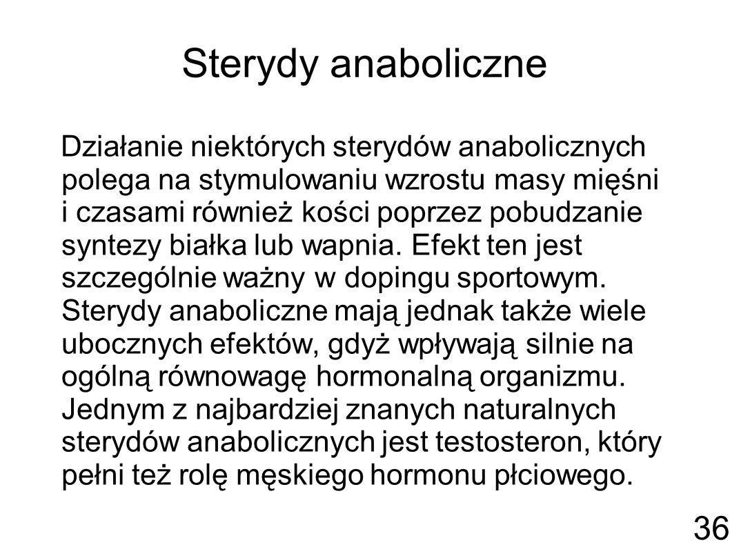 Sterydy anaboliczne