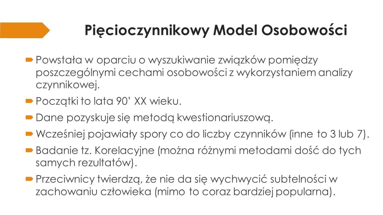 Pięcioczynnikowy Model Osobowości