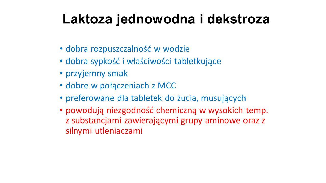 Laktoza jednowodna i dekstroza