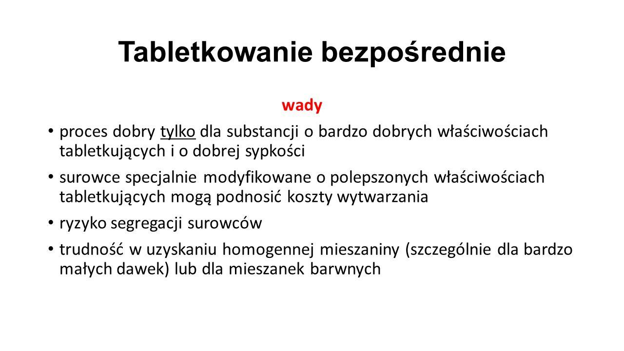 Tabletkowanie bezpośrednie