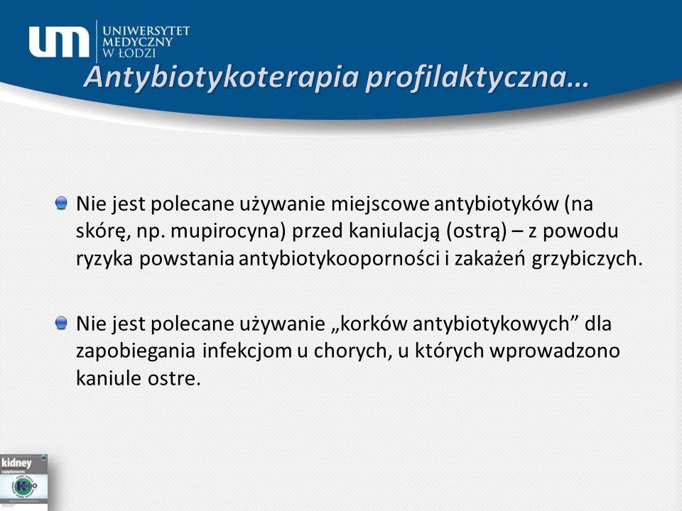 Antybiotykoterapia profilaktyczna…