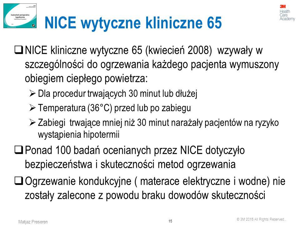 NICE wytyczne kliniczne 65