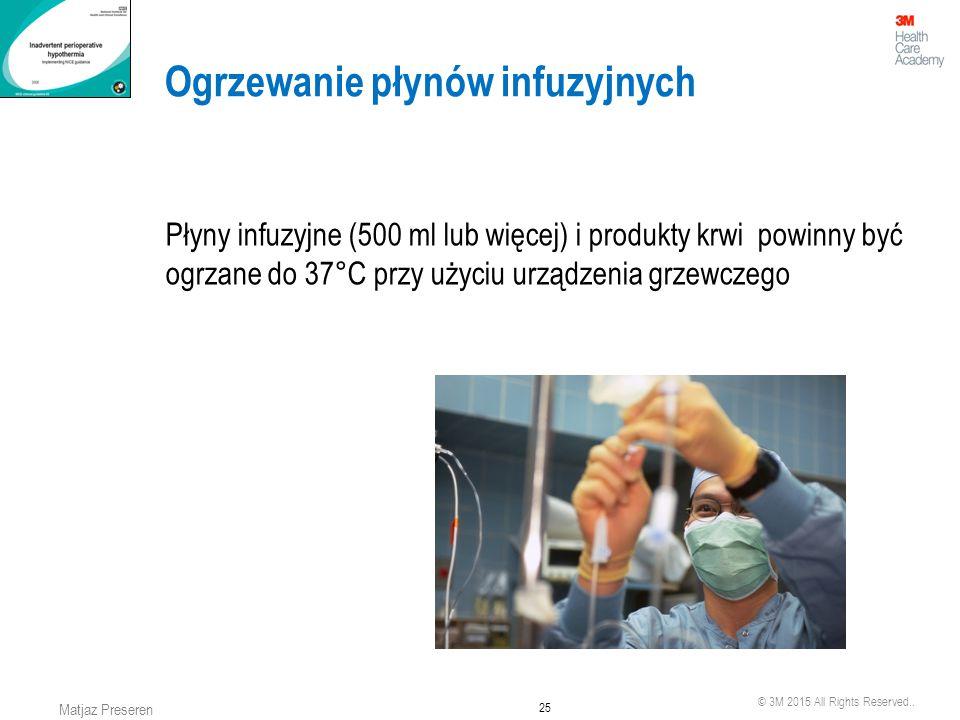 Ogrzewanie płynów infuzyjnych