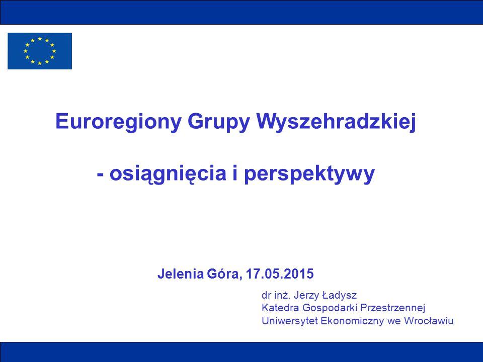 Euroregiony Grupy Wyszehradzkiej - osiągnięcia i perspektywy