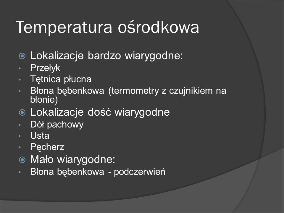 Temperatura ośrodkowa