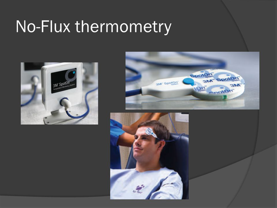 No-Flux thermometry