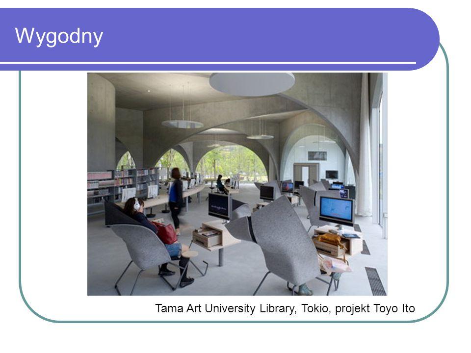 Wygodny Tama Art University Library, Tokio, projekt Toyo Ito